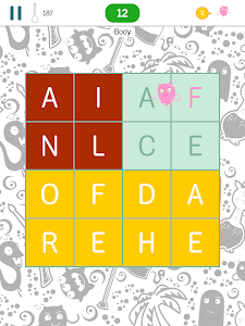 screenshot of Find The Words - search puzzle with themes version 2.7.3