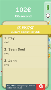 screenshot of Be a Billionaire - Are you the next Billionaire? version 6.1