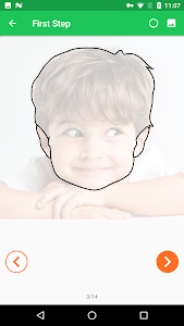 screenshot of 15 Day Learn To Draw Portrait version 1.0.1