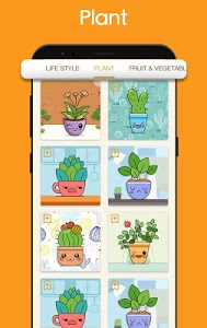 screenshot of Kawaii Easy Drawing : How to draw Step by Step version 2.6.1