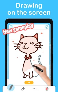 screenshot of Easy Drawing: Drawing on the screen Step by Step version 2.9.29