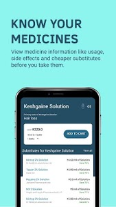 screenshot of 1mg - Pharmacy, Health Tests, Doctor Consultations version 10.2.2