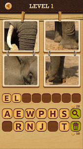 screenshot of 4 Pics Puzzle: Guess 1 Word version 1.3.0