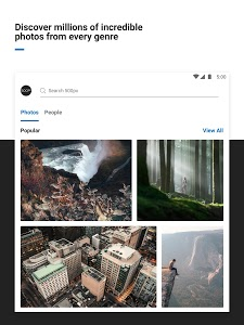 screenshot of 500px – Photography version 6.1.2