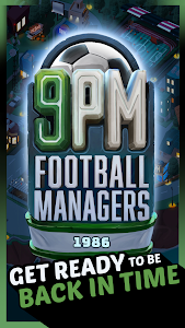 screenshot of 9PM Football Managers version 1.1.4