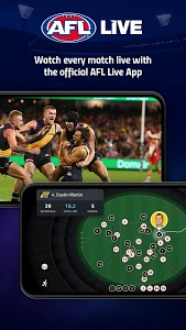 screenshot of AFL Live Official App version 05.02.40754