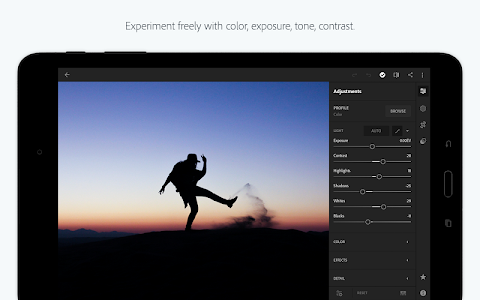 screenshot of Adobe Photoshop Lightroom CC version 3.4