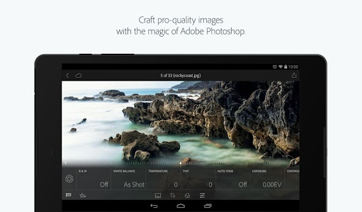 screenshot of Adobe Photoshop Lightroom version 2.3.1