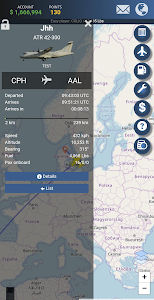 screenshot of Airline Manager 4 version 1.1.5