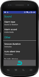 screenshot of Alarm Clock with Puzzle Game version 1.47