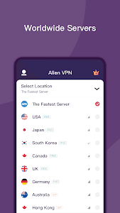 screenshot of Alien VPN - Fast Metro VPN & Proxy version 2.1.12.20
