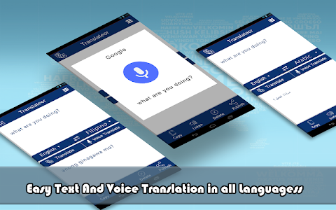 screenshot of All Languages Translator - Free Voice Translation version 1.1.2