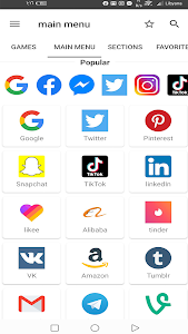 screenshot of All social media and social networks in one app version 9.2