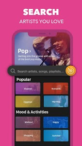 screenshot of Anghami - The Sound of Freedom version 4.3.22