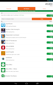 screenshot of AppNana - Free Gift Cards version 3.2.0