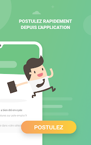 screenshot of Mes Offres - Pôle emploi version Varies with device