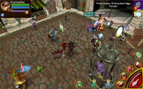 screenshot of Arcane Legends MMO-Action RPG version 2.1.1