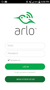 screenshot of Arlo version 1.9.0_9413