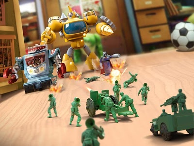 screenshot of Army Men Strike version 1.22.4