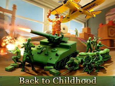 screenshot of Army Men Strike version 2.94.3