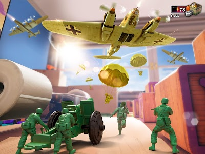 screenshot of Army Men Strike version 2.5.2