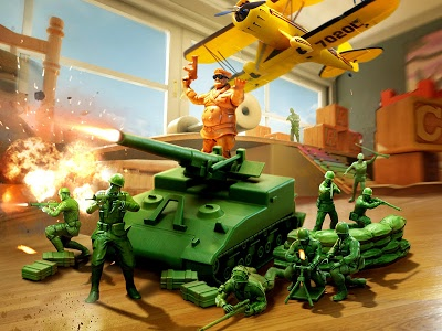screenshot of Army Men Strike version 2.4.0