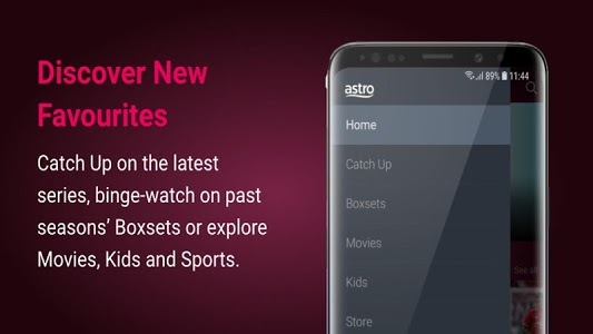 screenshot of Astro GO - Watch TV Shows, Movies & Sports LIVE version 2.193.4/AC19.3.4/704a58d