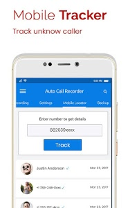 screenshot of Automatic Call Recorder version 1.60