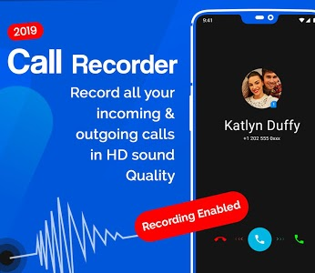 screenshot of Auto Call Recorder 2019 version 1.68