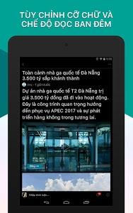 screenshot of BÁO MỚI - Đọc Báo, Tin Tức 24h version Varies with device
