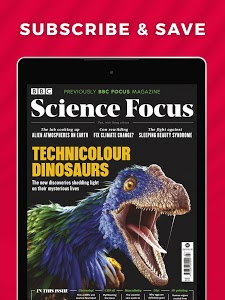 screenshot of BBC Science Focus Magazine - News & Discoveries version 6.1.0