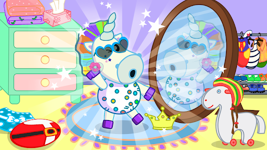 screenshot of Baby Care Game version 1.3.0