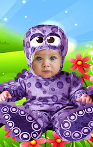 screenshot of Baby Photo Montage version 2.3