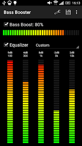 screenshot of Bass Booster version Varies with device