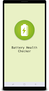 screenshot of Battery Health Checker version 1.4