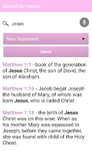 screenshot of Holy Bible for Woman in English version 77