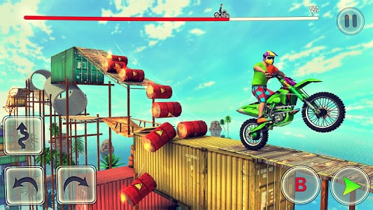 screenshot of Bike Stunt Tricks Master version 2.6