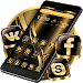 Download Black Golden Brown Theme 1.1.11 APK