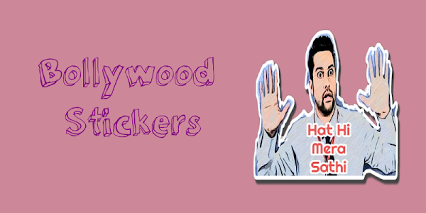 screenshot of Bollywood Stickers for whatsapp (WAStickerApps) version 1.0
