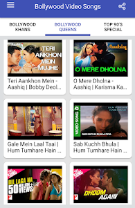 screenshot of Bollywood Video Songs : Best of 90s version 1.2.2