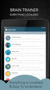 screenshot of Brain Training version 8.5.1