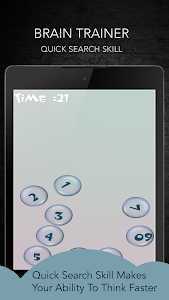 screenshot of Brain Training version 8.1.0