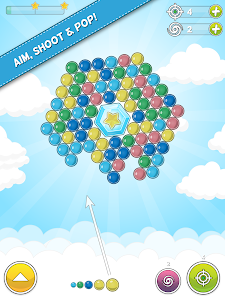 screenshot of Bubble Cloud version 1.9.49