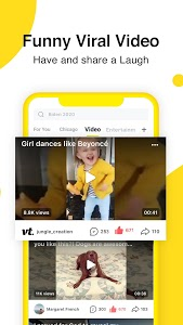 screenshot of TopBuzz Video - Funny Videos and Trending Stuff version 9.0.3.01