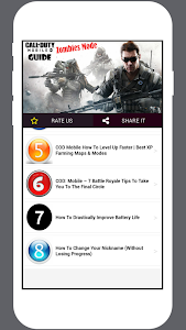 screenshot of COD Mobile Guide Zombies Mode version 2.0