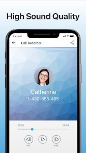 screenshot of Call Recorder Automatic version 1.1.223
