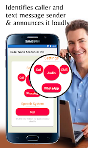 screenshot of Caller Name Announcer : Hands-Free Pro version 6.50