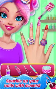 screenshot of Candy Makeup Beauty Game - Sweet Salon Makeover version 1.1.0