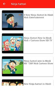 screenshot of Cartoon Tv App - Hindi version Varies with device
