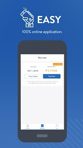 screenshot of Cashalo -- For Fast and Easy Loans On-Demand version Varies with device